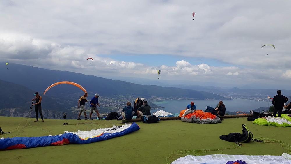paraglider france