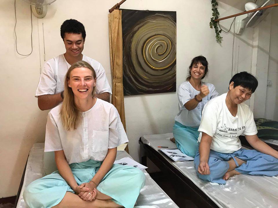 massagem curso tailandia chiang mai