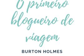 blogueiro de viagem