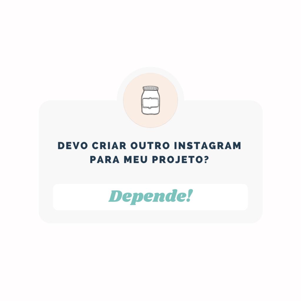 dois instagrams